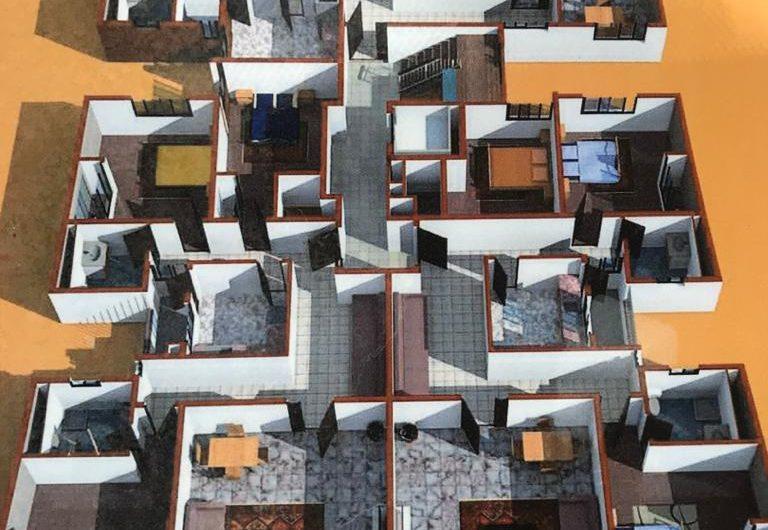 TRES JOLI IMMEUBLE DE R+9 A VENDRE A CITE KEUR GORGUI